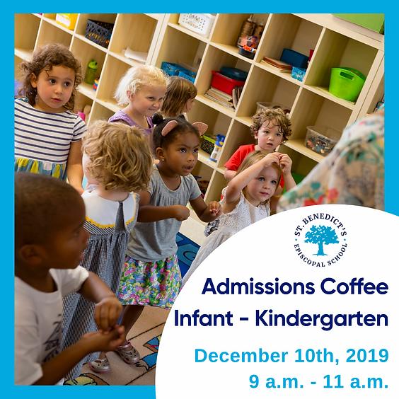 Admissions Coffee Infant - Kindergarten