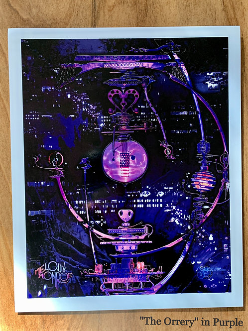 """The Orrery - 8""""X10"""" First Edition Art Print - Signed & Numbered"""