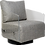 Thumbnail: Lucy Full Swivel Chair Element-Platinum