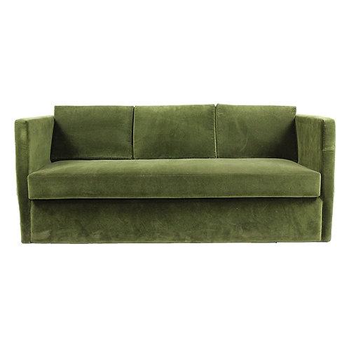 Green Velvet Sofabed