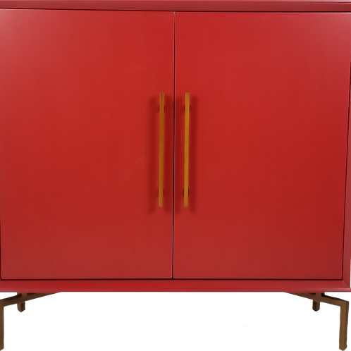 Ming Storage Chest-Red