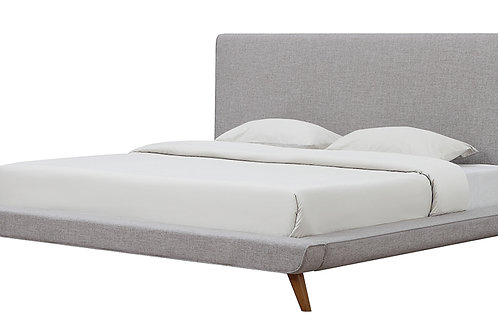 Nixon Beige Linen Bed in Full/Queen/King
