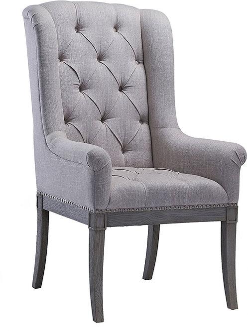 copy of Addington Beige Linen Arm Chair