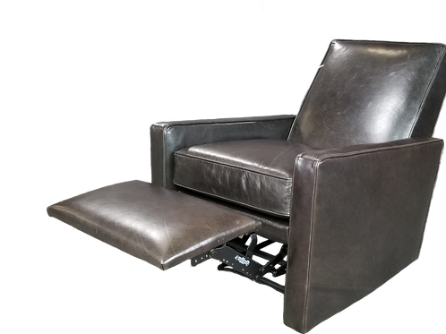 Felix Leather Recliner Caspian-Anthracite