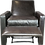 Thumbnail: Felix Leather Recliner Caspian-Anthracite