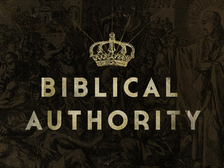 The Christian and Authority, part 1