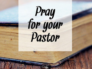 Your Pastor Needs Your Prayer This Weekend