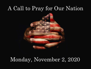 A Call to Pray for our Nation