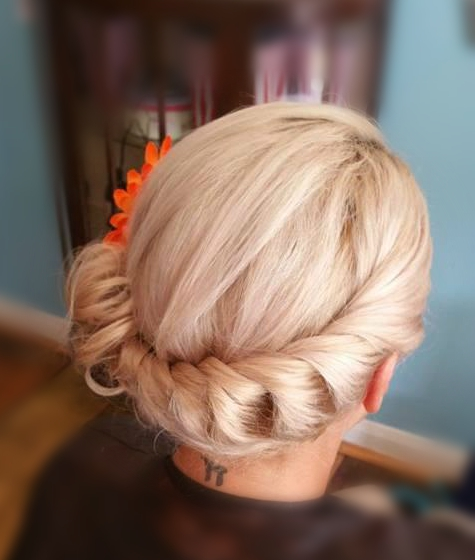 Bridesmaid Hair Cornwall
