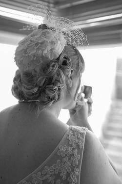 Vintage Wedding Hair Cornwall