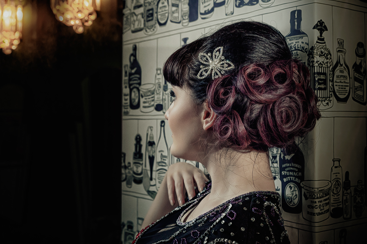 Vintage Wedding Hair St Ives