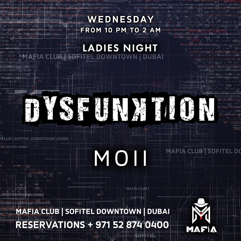 DYSFUNKTION SQUARE  WEDNESDAY