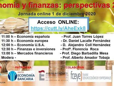 Economía y Finanzas: Perspectivas 2021
