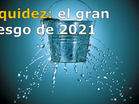 LIQUIDEZ, el gran riesgo de 2021