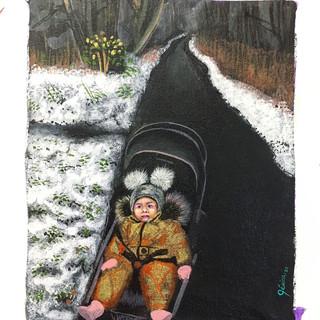 """""""Bebé en la nieve"""""""