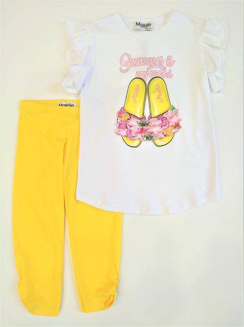 Комплект: футболка+лосины - Maelie