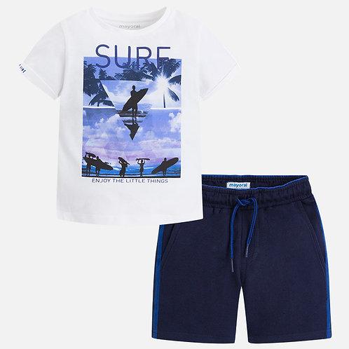 Комплект футболка с шортами - Mayoral
