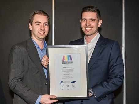 Parity wins 2015 AVIA award