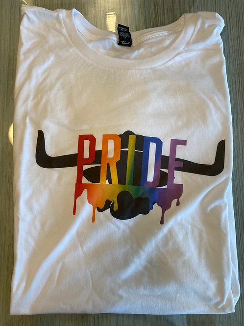 Dunning's PRIDE Shirt (White)