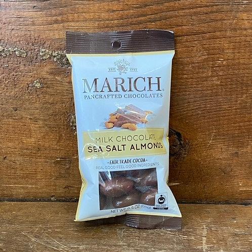 Marich Milk Chocolate Sea Salt Almonds