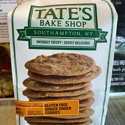Tate's Bake Shop Ginger Cookies -GLUTEN FREE