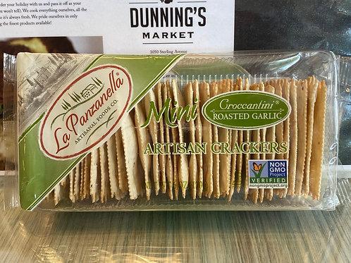 La Panzanella Crackers - Roasted Garlic