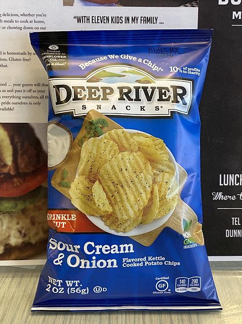 Deep River – Sour Cream & Onion
