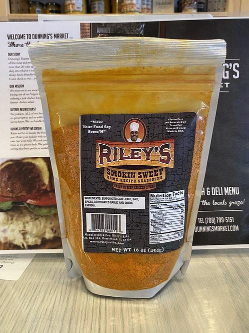 Riley's Smokin Sweet Home Recipe Seasoning