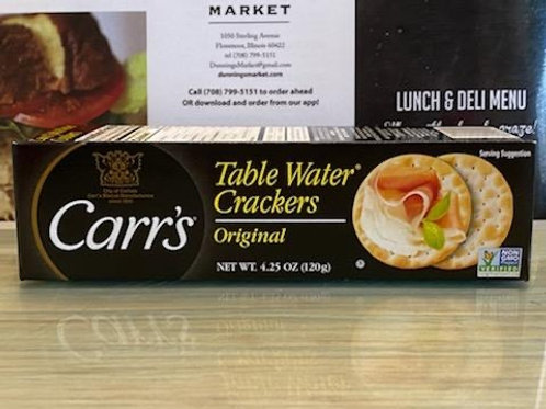 Carr's Original Crackers