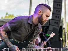 CAST Engineering Artist Josh Weaver of the Atlanta based band Royal Thunder Texas Flood Pulse Drive casper delay guitar pedals georgia rock and roll rolling stone guitar player magazine premier guitar yamaha guitar spinefarm records area recording studio new album world tour