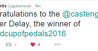 Casper wins the World Cup of Pedals 2016!