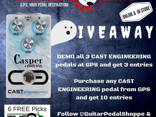 FREE CAST Engineering Casper Delay Pedal!!