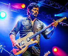 CAST Engineering Artist Mike Zito, blues guitarist/singer/songwriter from Texas.