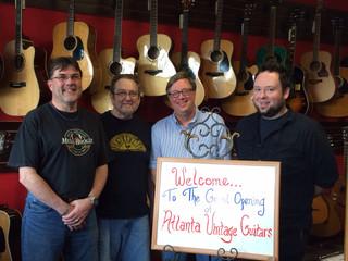 CAST Engineering & Atlanta Vintage Guitars!