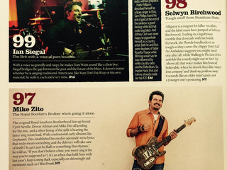Mike Zito voted as Top 100 Greatest Singers!