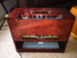 CAST Engineering Blues Junior Amp Upgrade, Level 3, hand built, rehoused cabinet, Guitar Player Magazine, Premier Guitar, Vintage Guitar Magazine