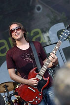 CAST Engineering Artist Ryan Newell of the band Sister Hazel