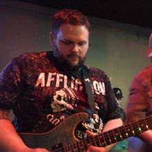 CAST Engineering artist Jarrett Johnson of up and coming Country Music Star Jacob Bryan Anderson guitars Texas Flood Pulse Drive Casper Delay guitar pedals country music buddy lee booking nashville