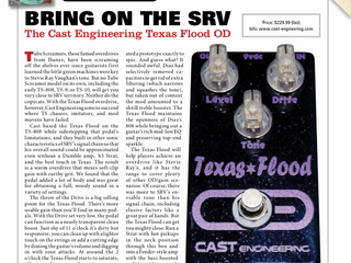 Vintage Guitar Magazine Gear Review!!