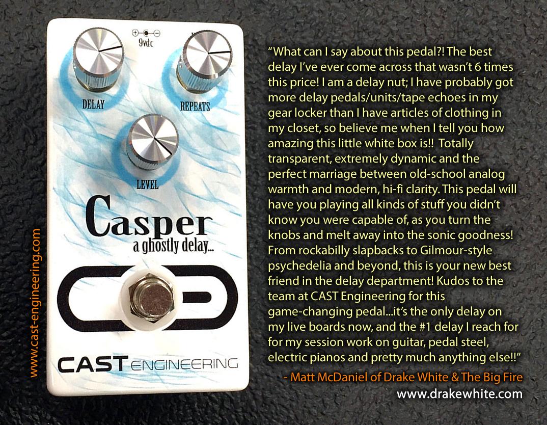 CAST Engineering Casper Delay