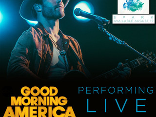 Drake White & The Big Fire to be on Good Morning America August 23rd !