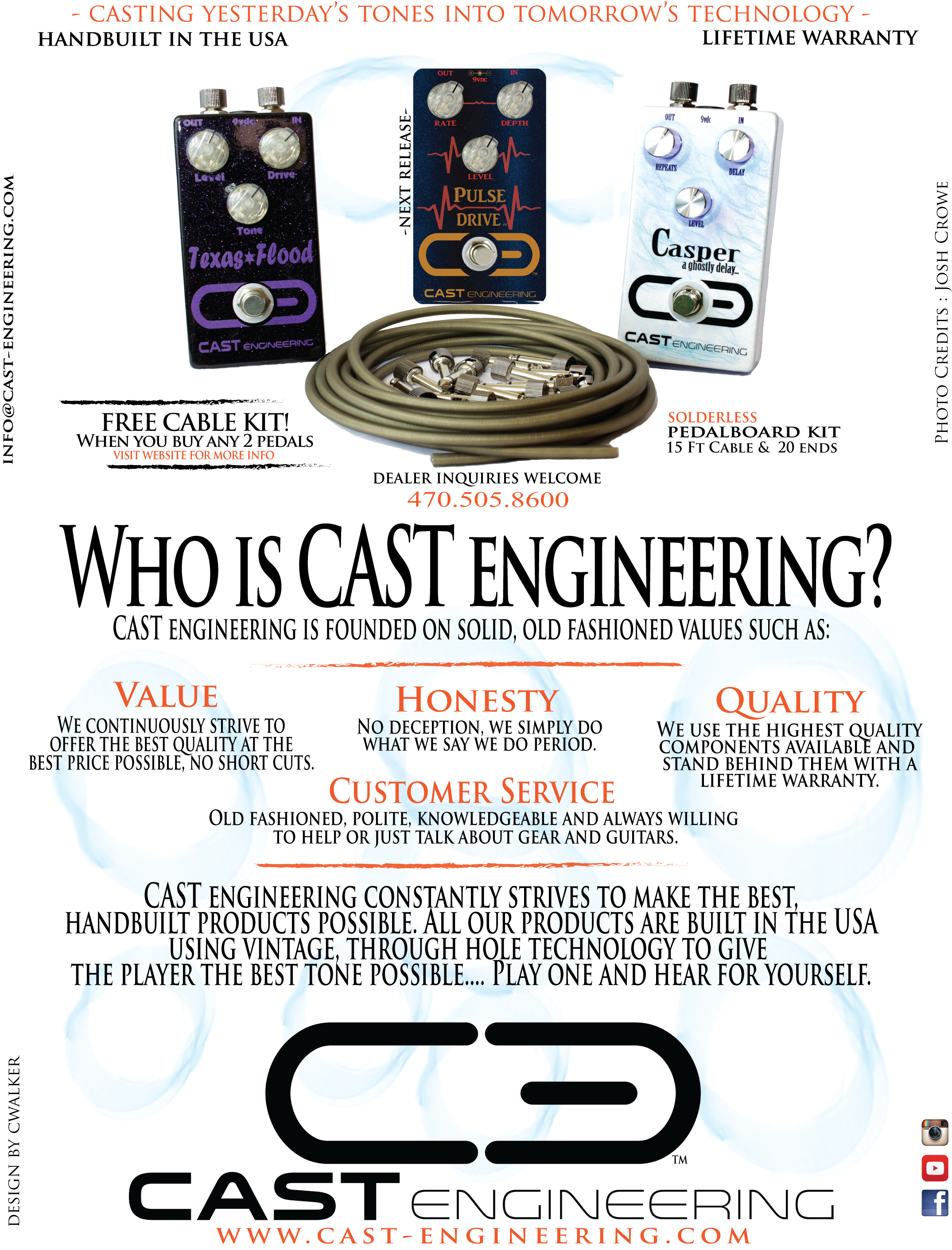 CAST Engineering Magazine Ad