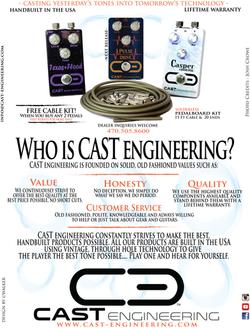 CAST Engineering Magazine Ad