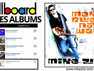 Mike Zito maintains top 5 on Billboard and nominated for 2 Blues Awards!