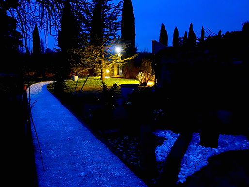 jardin nocturne
