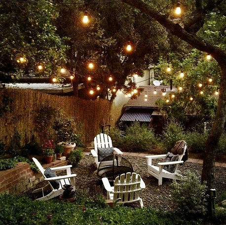 jardin nocturne Naturdeco
