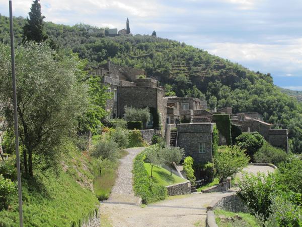 Colletta integrated in hillside
