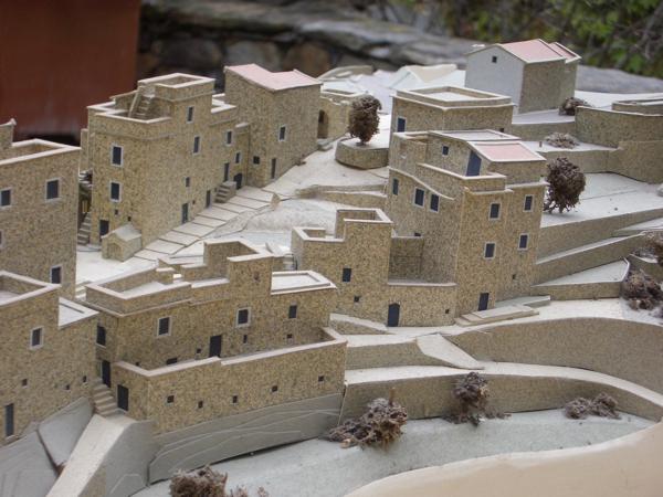 Architect's model of Colletta