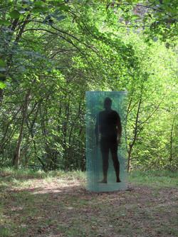 Colletta sculpture: 'Behind me'