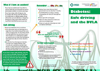 Diabetes: Safe driving and the DVLA